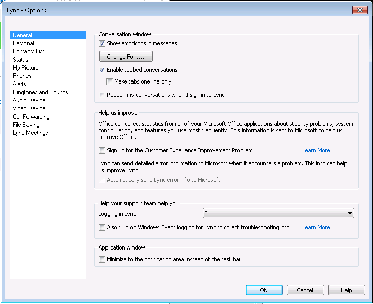 Lync2013-OptionsWindow1