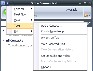 OfficeCommunicator-Options1