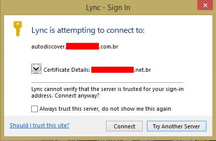Lync 2013: EWS has not fully initialized – UC Lobby