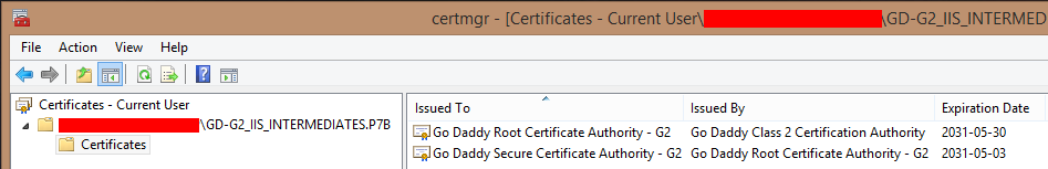 Certificate re-key to change signature algorithm in Lync