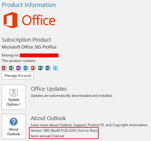Lync and Skype for Business Desktop Client Versions (MSI/C2R