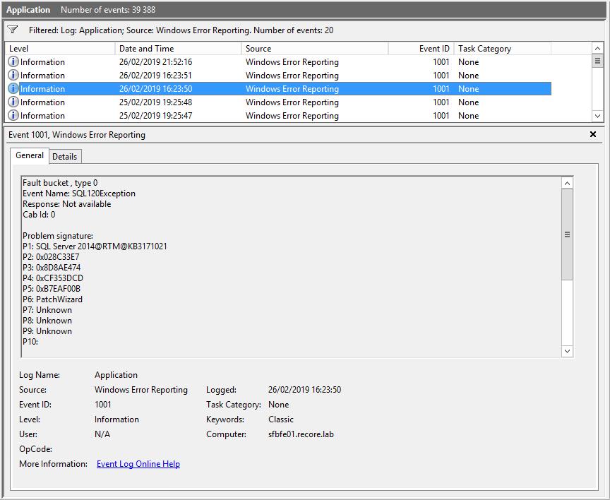 SfB Server: Cannot install SQL Server 2014 Express SP3 – UC Lobby